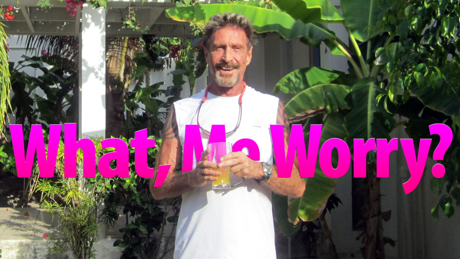 Plagued by Lawsuits, McAfee Founder Hunts for Cures in Belize