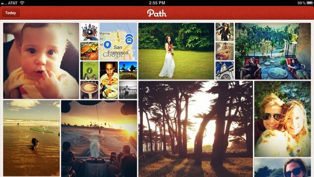Path para iPad.