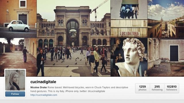 Instagram agora tem perfil na web.