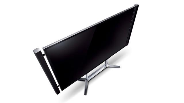 TV Ultra HD da Sony: R$ 100 mil no Brasil.