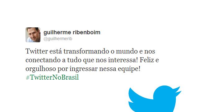 Twitter no Brasil.