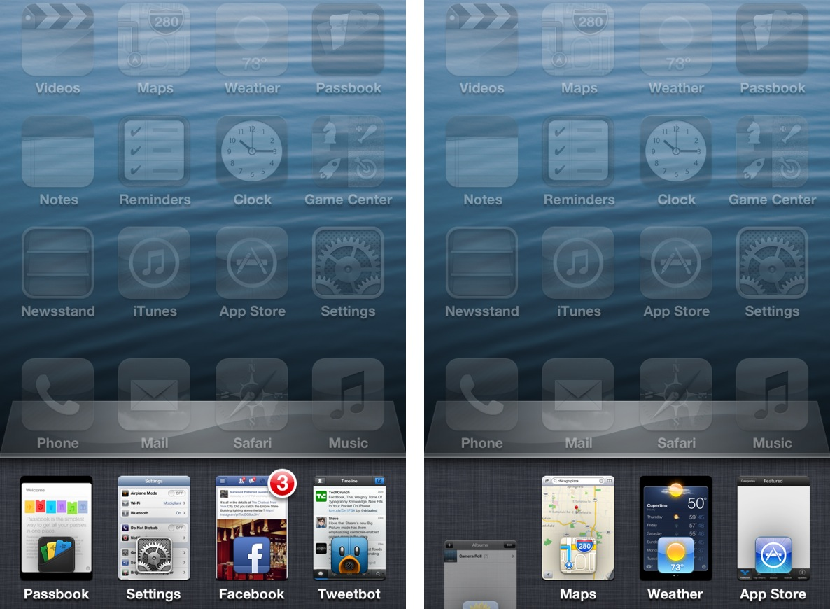 Auxo: app switcher moderno no iOS.