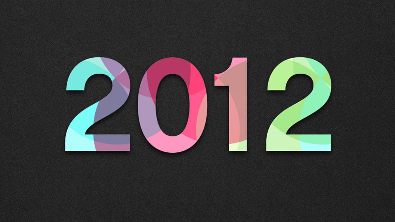 Os melhores wallpapers de 2012