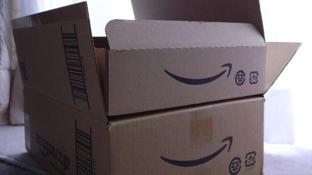 Caixas da Amazon.