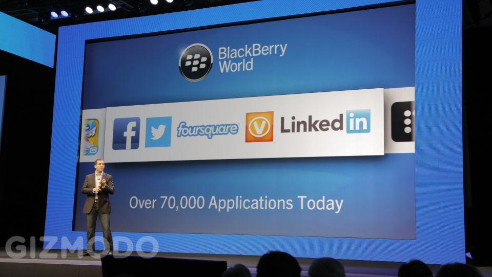 70 mil apps para o BlackBerry 10