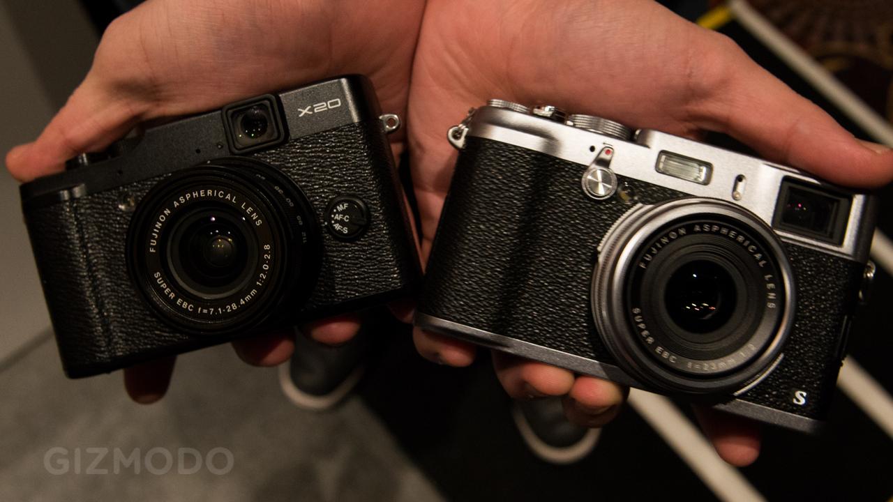 Novas câmeras da Fujifilm.