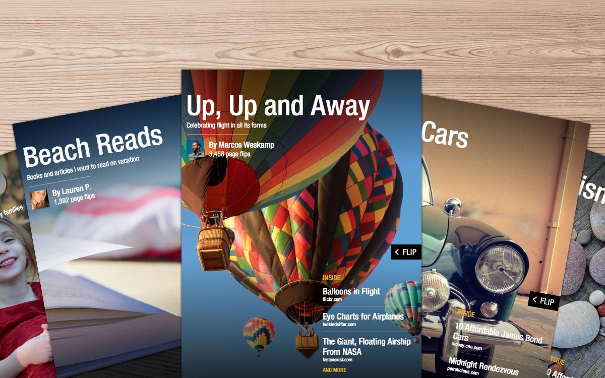 Revistas no Flipboard.