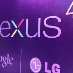 Nexus 4 no Brasil.