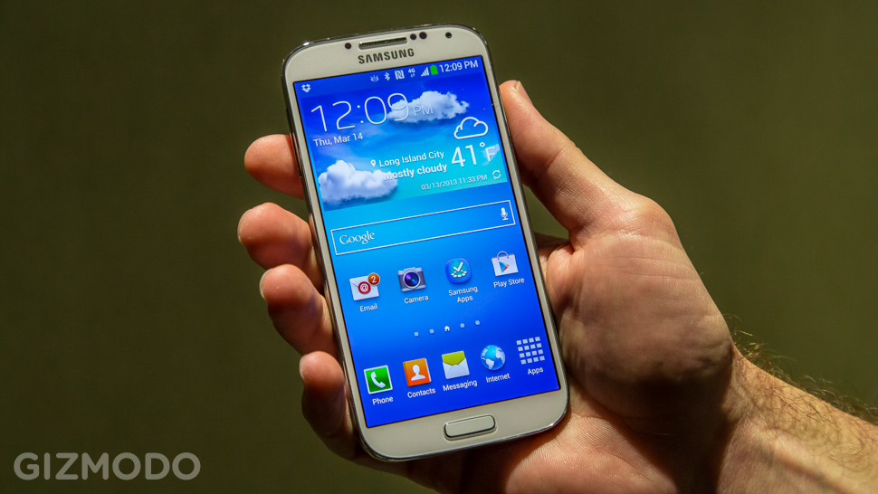 Galaxy S4 Mini.