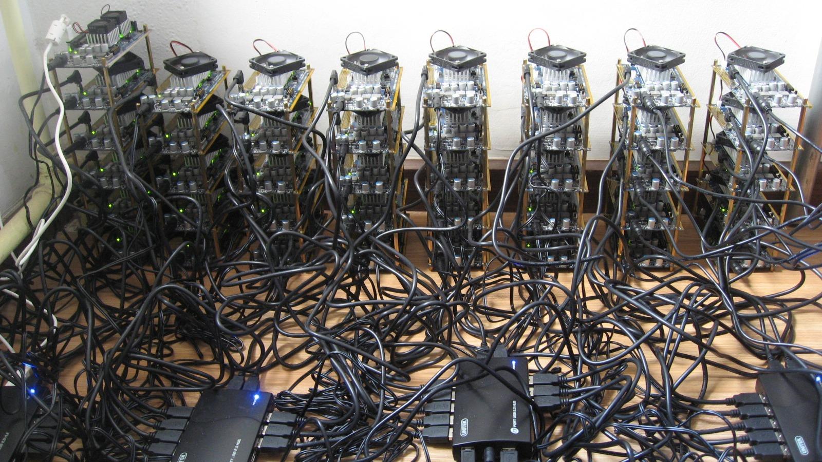 Perfuradoras digitais: as máquinas monstruosas que mineram Bitcoins