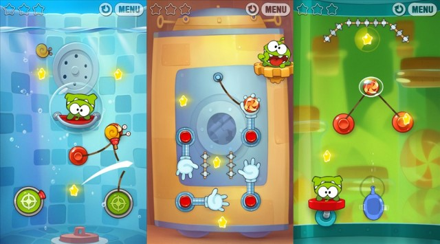 Cut The Rope Experiments.