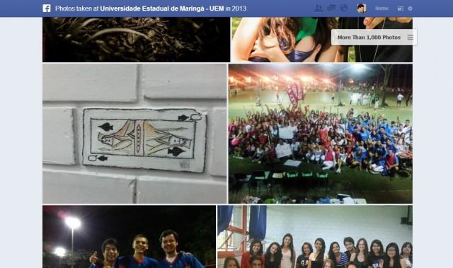 Fotos na Busca Social.