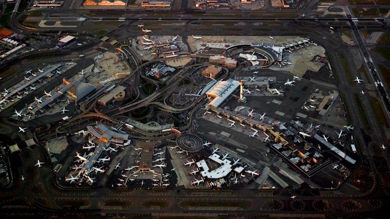 Aeroportos são uma belíssima bagunça