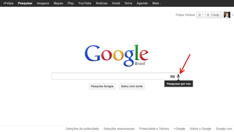 google-search-voice microfone 2