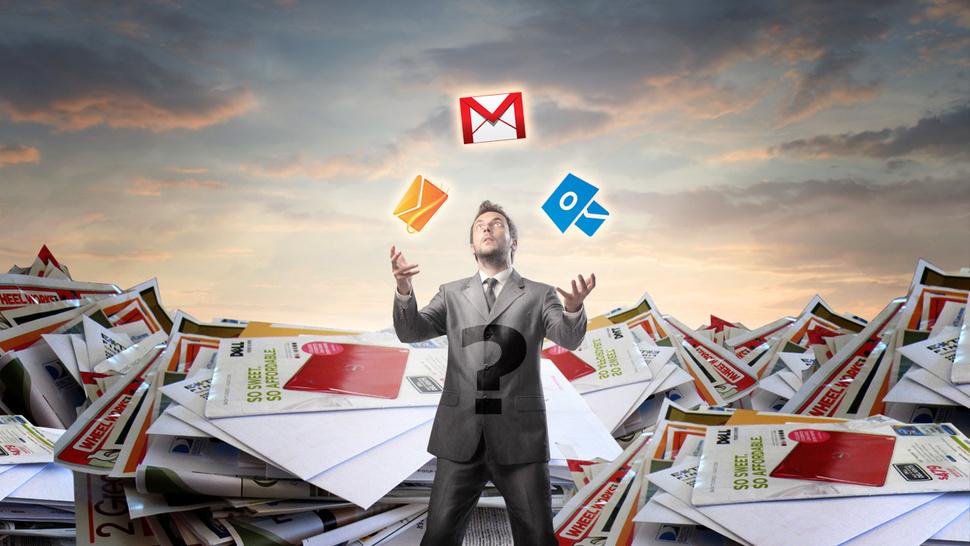 Cheque e-mails como um geek (e não como um analfabeto tecnológico)