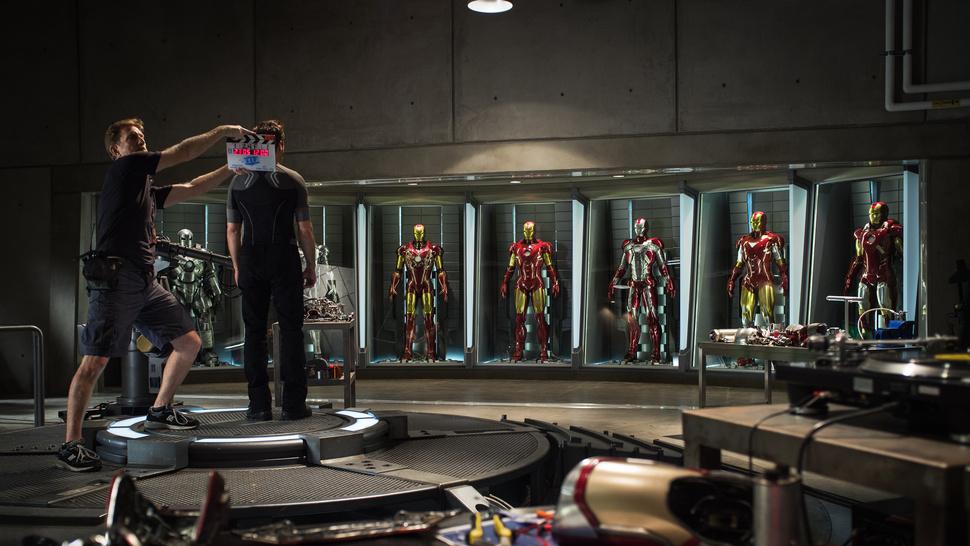 Os Tony Starks da vida real por trás da armadura fantástica de Homem de Ferro 3
