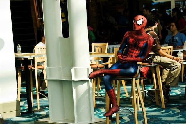 traje homem aranha 2