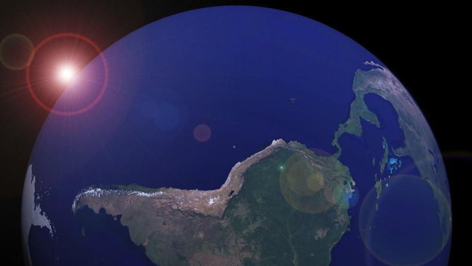 Reimaginando os mapas da Terra: por que eles deveriam ser virados de lado