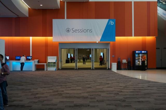 Sessões para desenvolvedores.