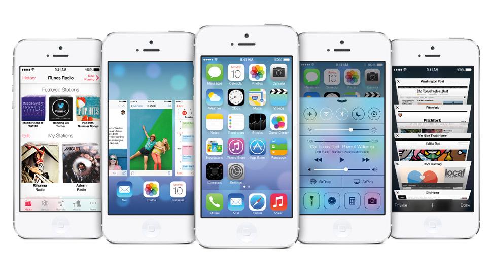 O que roda e o que não roda com o iOS 7.