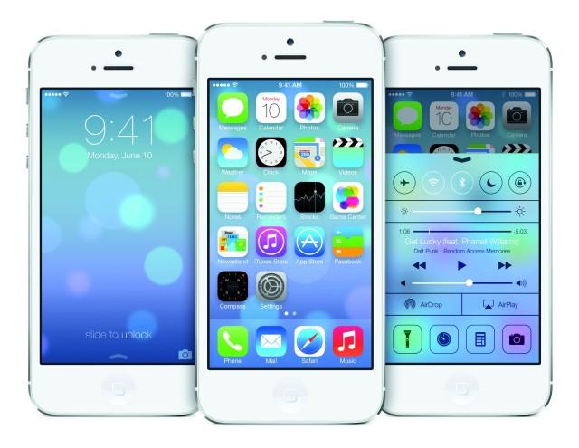 Novo iOS 7.