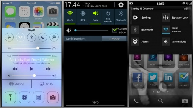 ios7 control center android bb10