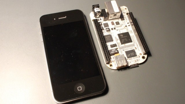 iphone beagleboard