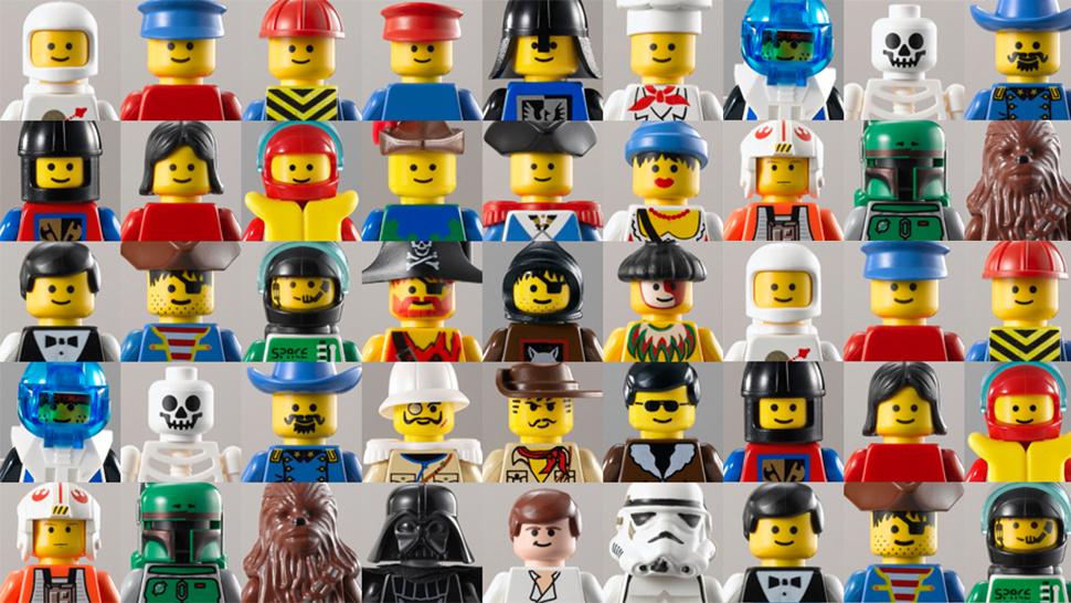 A evolução dos minifigs de Lego