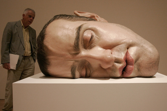 Lifelike Human Sculptures Exhibition Opens In Melbourne