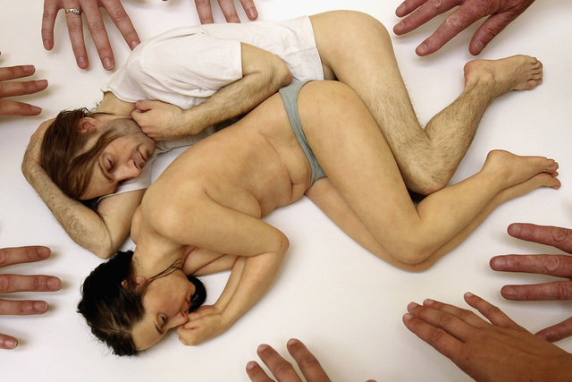 Artist Ron Mueck Solo Exhibition At The Royal Scottish Academy
