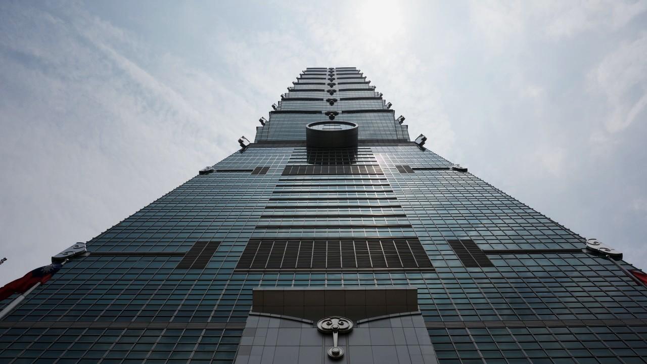 O imponente Taipei 101