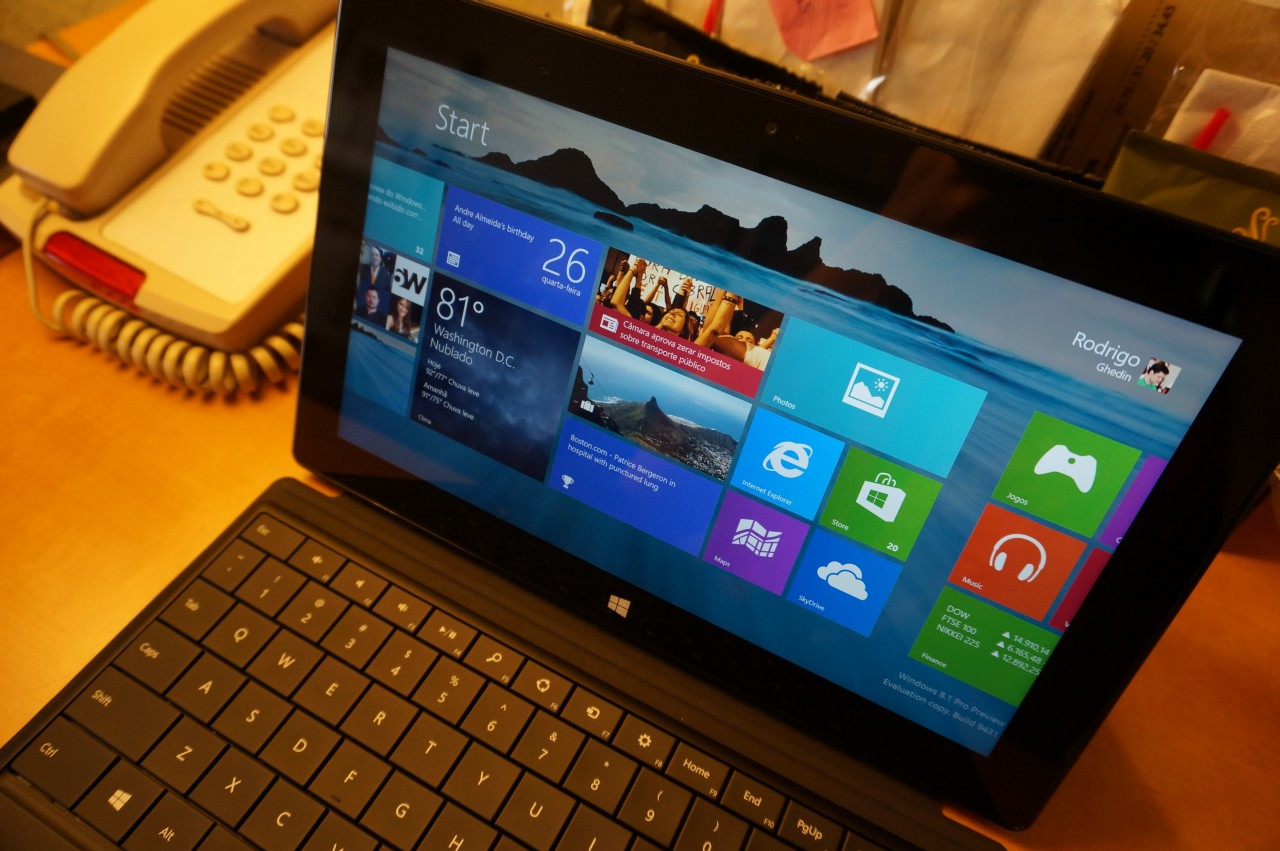 Hands-on: Windows 8.1 Preview.