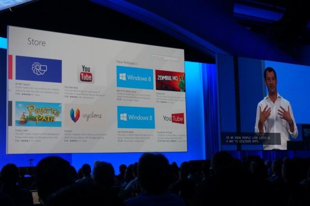 Nova Windows Store do Windows 8.1.