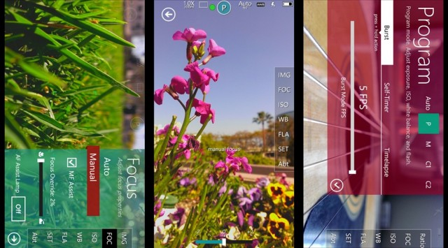 ProShot, para Windows Phone.