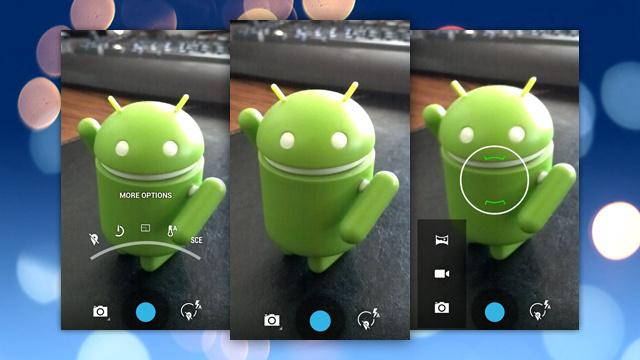 Câmera do Android 4.3.