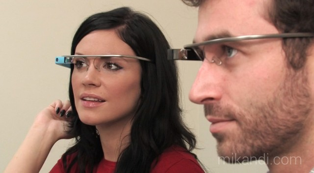 Astros do pornô com Google Glass.
