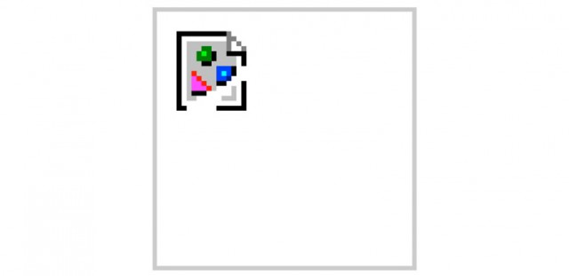 Ícone de imagem quebrada.