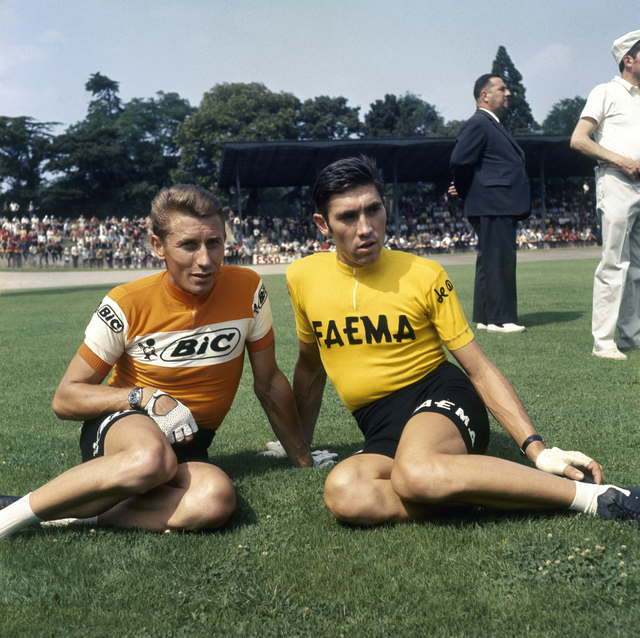 FRANCE - JACQUES ANQUETIL ET EDDY MERCKX