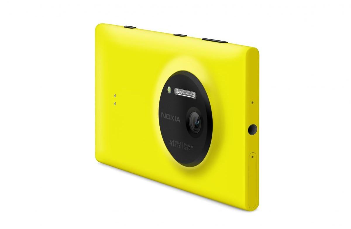 A câmera do Lumia 1020.