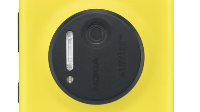 Câmera do Lumia 1020.