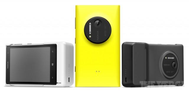Camera Grip, acessório do Lumia 1020.