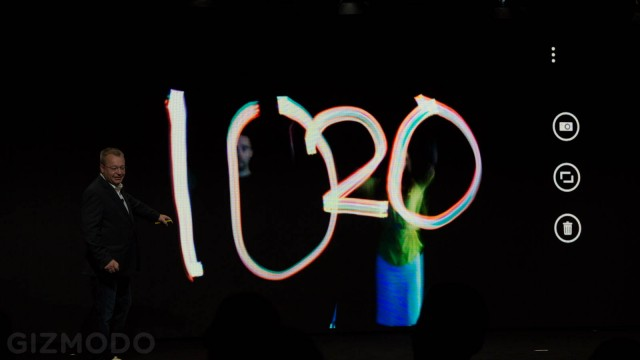 lumia 1020 light painting