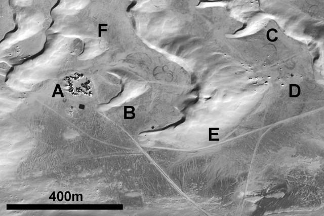 Foto de satélite de Mos Espa.