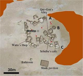 Mapa de Mos Espa.