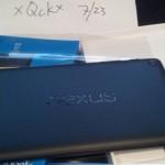 Vazamento Nexus 7.