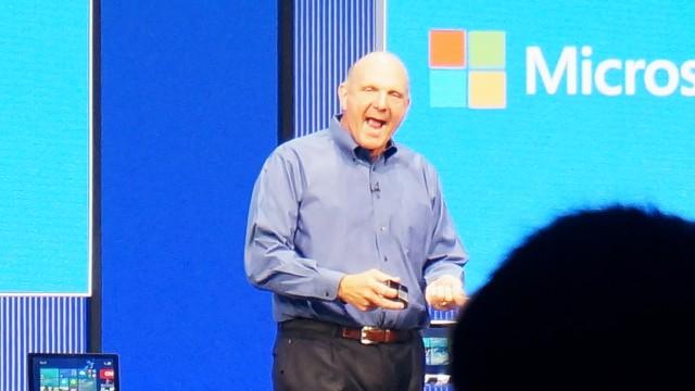 Steve Ballmer, na Build 2013.