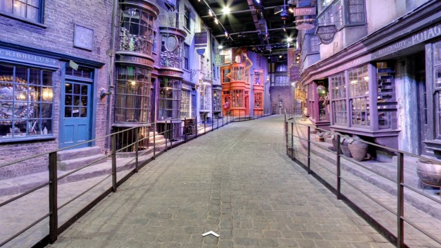 street view harry potter