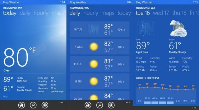 Clima Bing