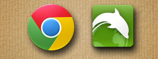Chrome ou Dolphin