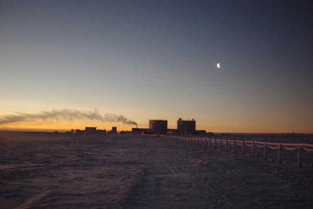 Sol na Antártica GRANDE